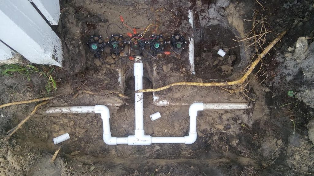 Sprinkler Valve Repair