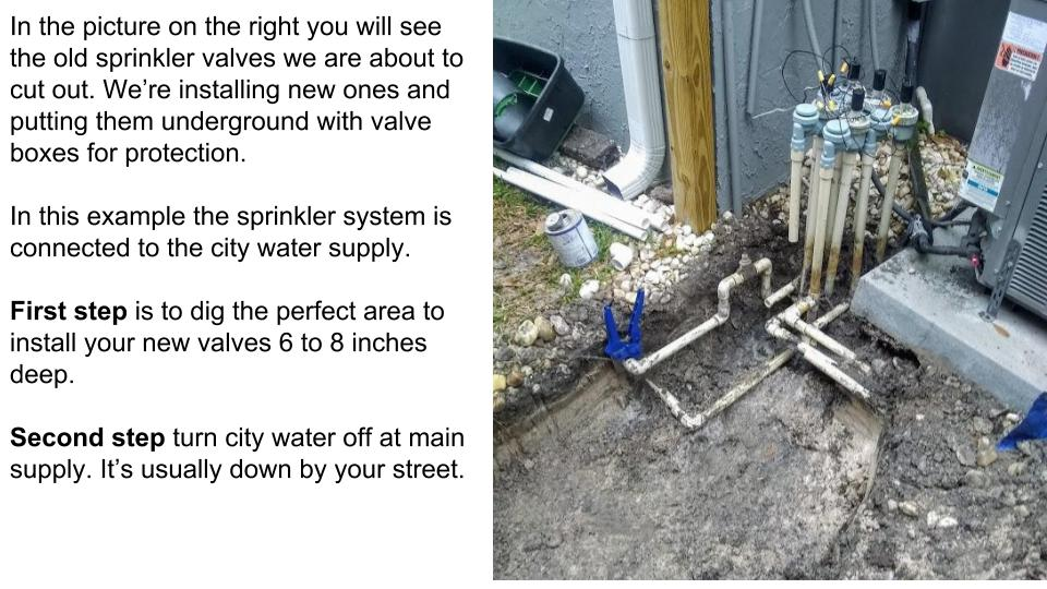 Sprinkler Repair Pasco Fl