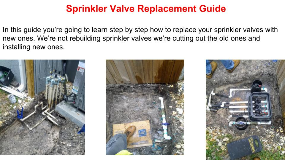 Sprinkler Valve Repair Spring Hill Fl, American Property Maintenance is a sprinkler service company with over 20 years experience repairing and installing sprinkler systems. We always provide Free Estimates all work warrantied for 1 year